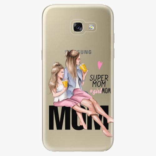 Silikonové pouzdro iSaprio - Milk Shake / Blond na mobil Samsung Galaxy A5 2017