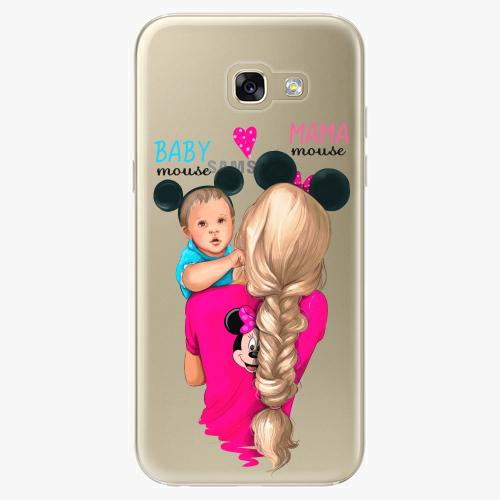 Silikonové pouzdro iSaprio - Mama Mouse Blonde and Boy na mobil Samsung Galaxy A5 2017
