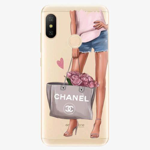 Silikonové pouzdro iSaprio - Fashion Bag na mobil Xiaomi Mi A2 Lite