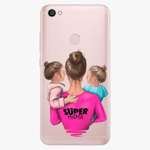 Silikonové pouzdro iSaprio - Super Mama na mobil Two Girls na mobil Xiaomi Redmi Note 5A / 5A Prime