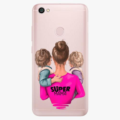 Silikonové pouzdro iSaprio - Super Mama na mobil Two Boys na mobil Xiaomi Redmi Note 5A / 5A Prime