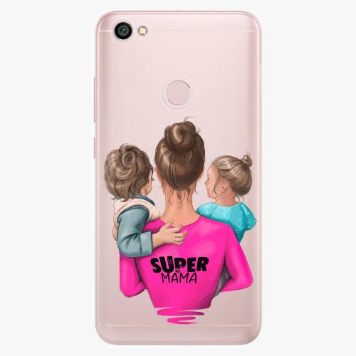 Silikonové pouzdro iSaprio - Super Mama na mobil Boy and Girl na mobil Xiaomi Redmi Note 5A / 5A Prime