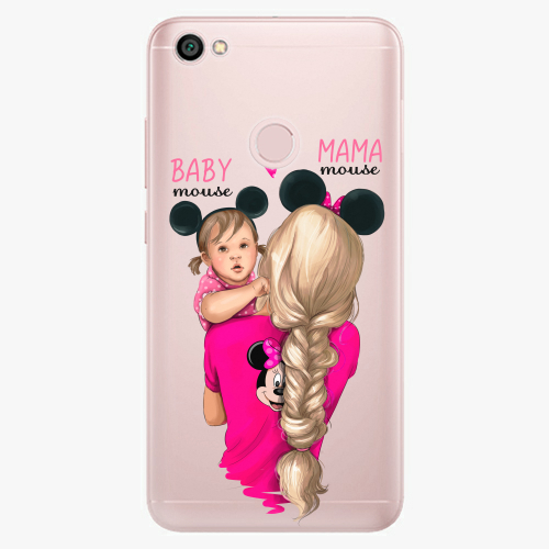 Silikonové pouzdro iSaprio - Mama Mouse Blond and Girl na mobil Xiaomi Redmi Note 5A / 5A Prime