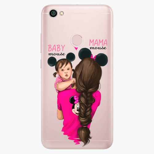 Silikonové pouzdro iSaprio - Mama Mouse Brunette and Girl na mobil Xiaomi Redmi Note 5A / 5A Prime