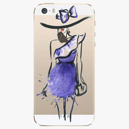 Silikonové pouzdro iSaprio - Fashion 02 na mobil Apple iPhone 5/ 5S/ SE