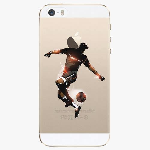 Silikonové pouzdro iSaprio - Fotball 01 na mobil Apple iPhone 5/ 5S/ SE