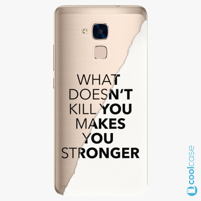 Silikonové pouzdro iSaprio - Makes You Stronger na mobil Honor 7 Lite