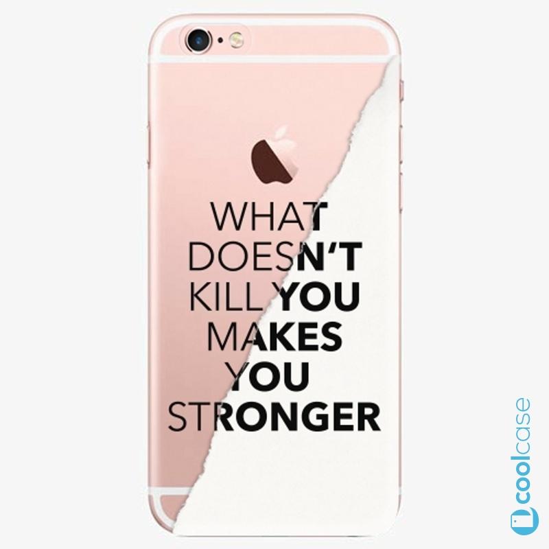 Silikonové pouzdro iSaprio - Makes You Stronger na mobil Apple iPhone 6 Plus / 6S Plus
