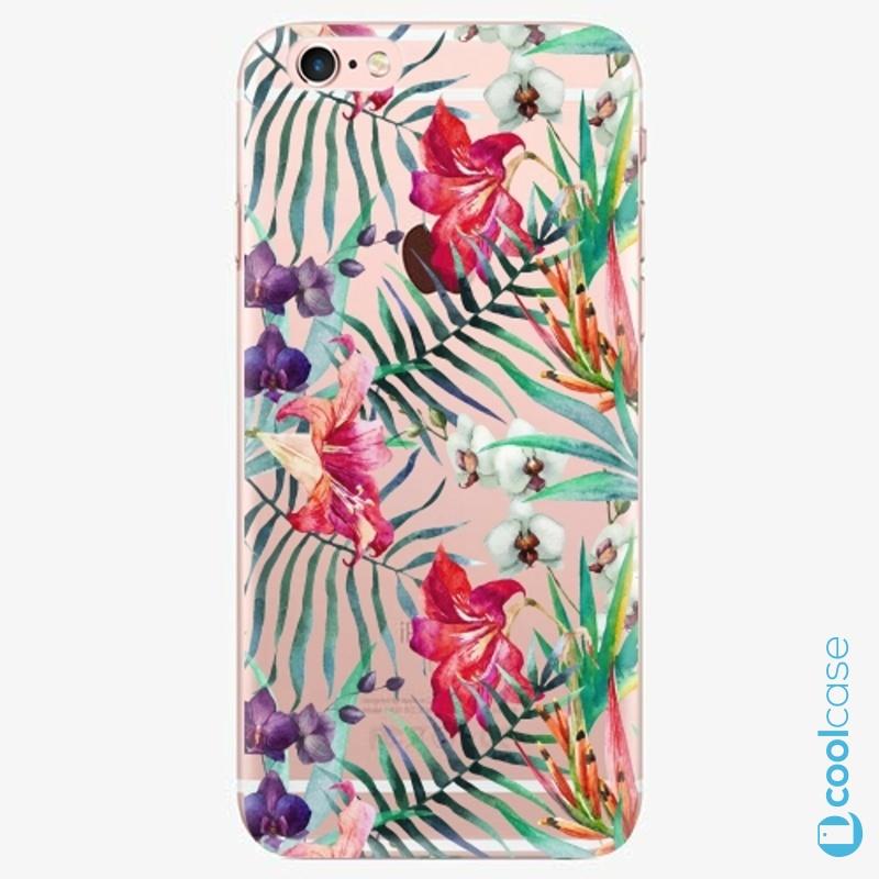 Silikonové pouzdro iSaprio - Flower Pattern 03 na mobil Apple iPhone 6 Plus / 6S Plus