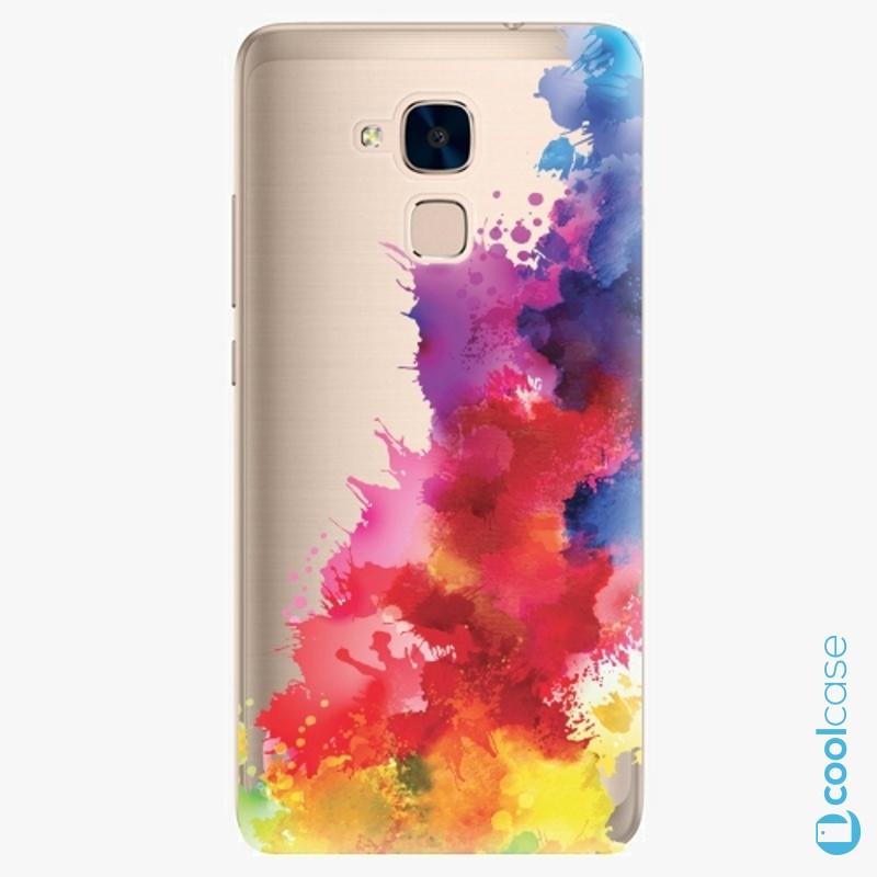 Silikonové pouzdro iSaprio - Color Splash 01 na mobil Honor 7 Lite