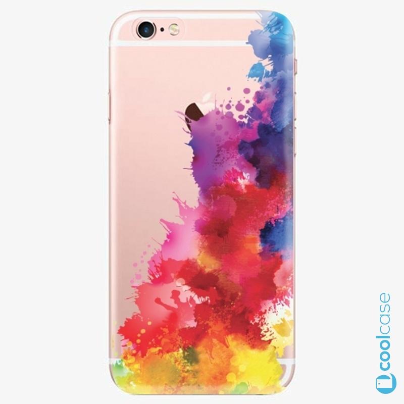 Silikonové pouzdro iSaprio - Color Splash 01 na mobil Apple iPhone 6 Plus / 6S Plus