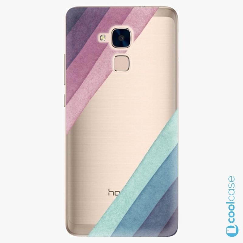 Silikonové pouzdro iSaprio - Glitter Stripes 01 na mobil Honor 7 Lite