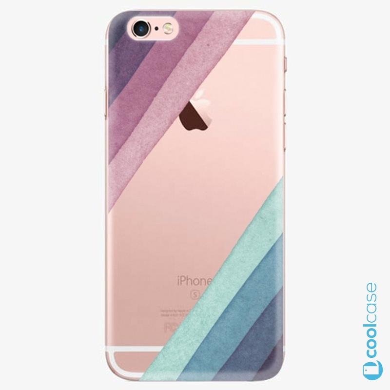 Silikonové pouzdro iSaprio - Glitter Stripes 01 na mobil Apple iPhone 6 Plus / 6S Plus