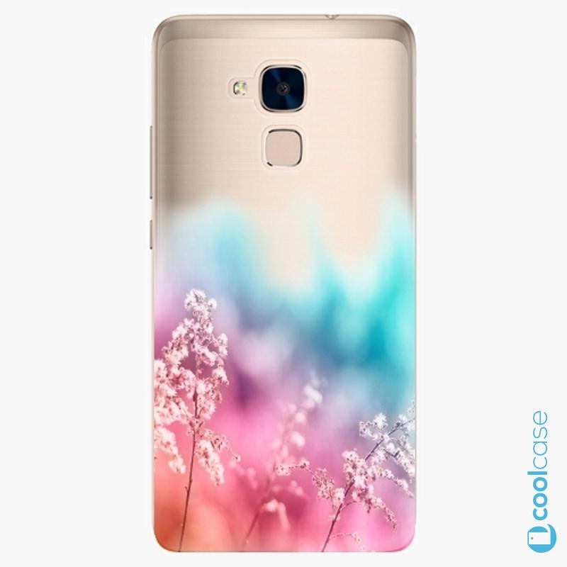 Silikonové pouzdro iSaprio - Rainbow Grass na mobil Honor 7 Lite