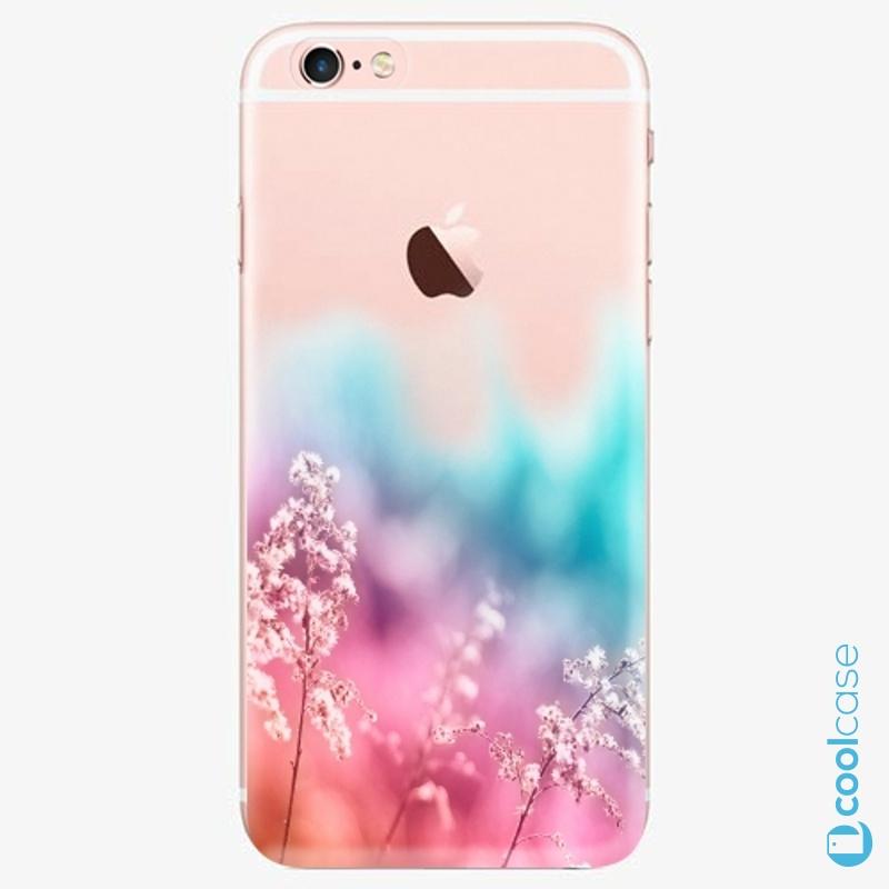 Silikonové pouzdro iSaprio - Rainbow Grass na mobil Apple iPhone 6 Plus / 6S Plus