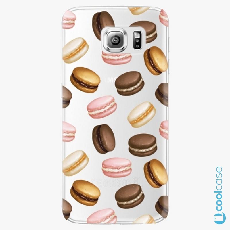Silikonové pouzdro iSaprio - Macaron Pattern na mobil Samsung Galaxy S6 Edge