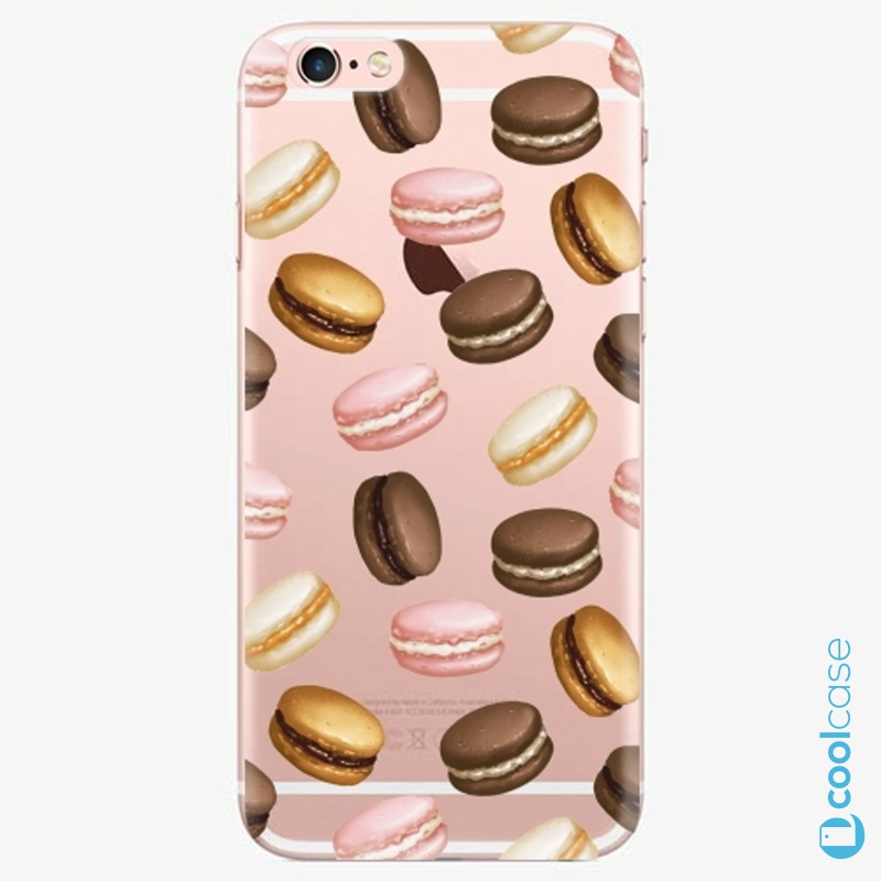 Silikonové pouzdro iSaprio - Macaron Pattern na mobil Apple iPhone 6 Plus / 6S Plus