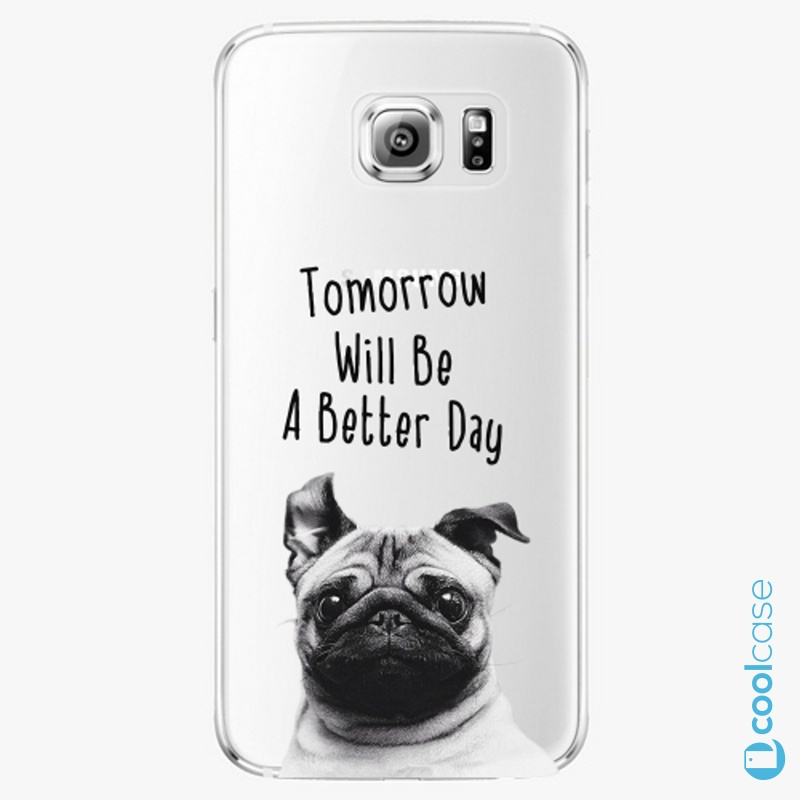 Silikonové pouzdro iSaprio - Better Day 01 na mobil Samsung Galaxy S6 Edge