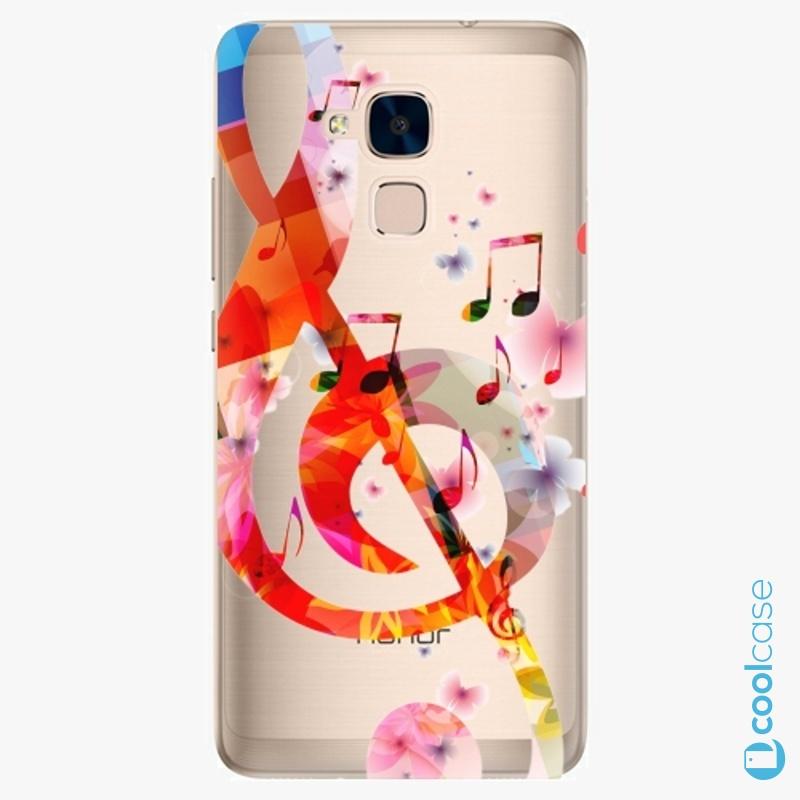 Silikonové pouzdro iSaprio - Music 01 na mobil Honor 7 Lite