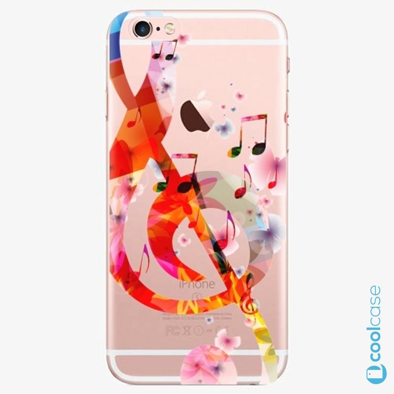 Silikonové pouzdro iSaprio - Music 01 na mobil Apple iPhone 6 Plus / 6S Plus