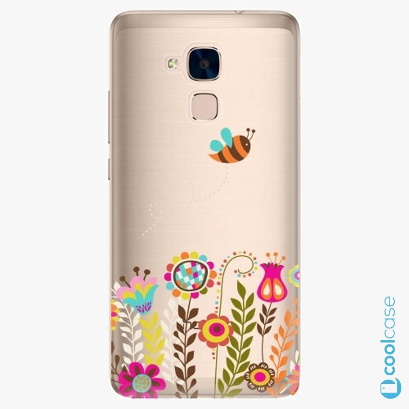 Silikonové pouzdro iSaprio - Bee 01 na mobil Honor 7 Lite