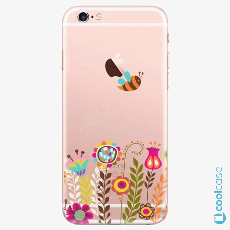 Silikonové pouzdro iSaprio - Bee 01 na mobil Apple iPhone 6 Plus / 6S Plus