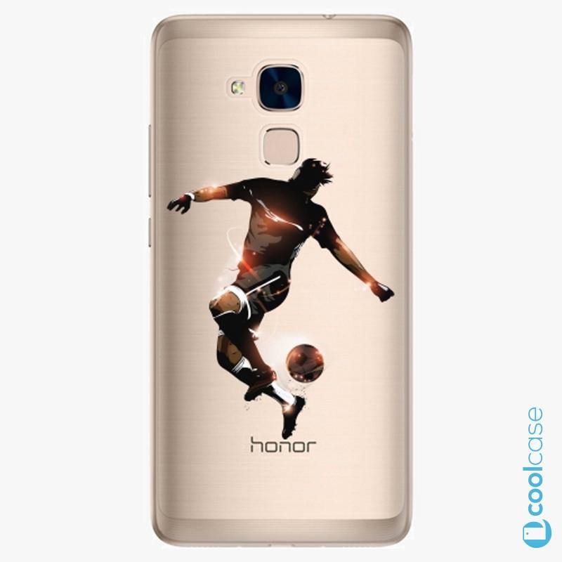 Silikonové pouzdro iSaprio - Fotball 01 na mobil Honor 7 Lite