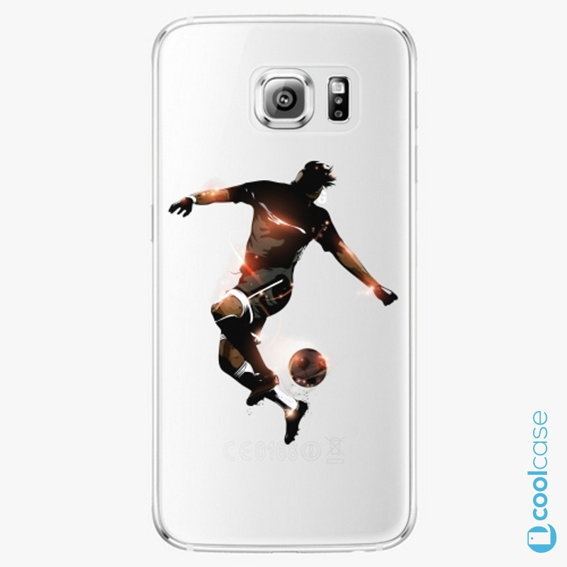 Silikonové pouzdro iSaprio - Fotball 01 na mobil Samsung Galaxy S6 Edge