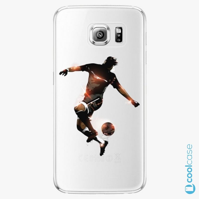 Silikonové pouzdro iSaprio - Fotball 01 na mobil Samsung Galaxy S6