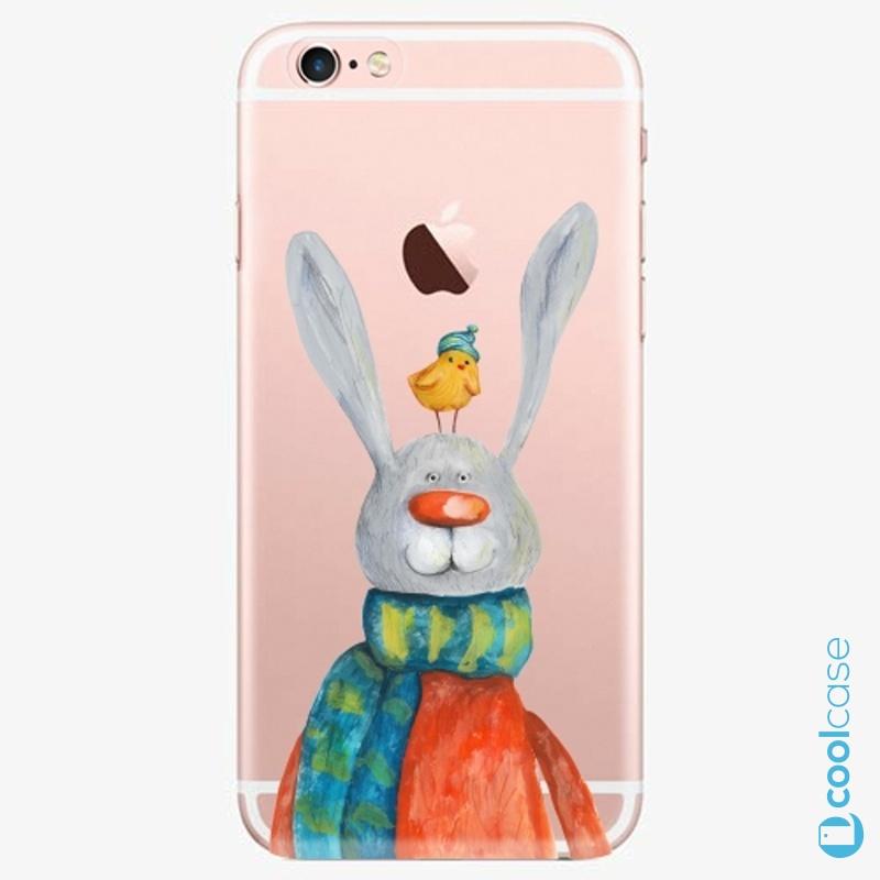 Silikonové pouzdro iSaprio - Rabbit And Bird na mobil Apple iPhone 6 Plus / 6S Plus