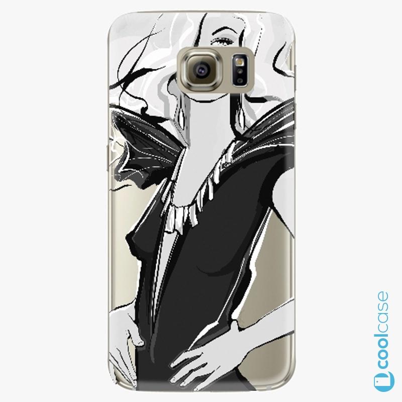 Silikonové pouzdro iSaprio - Fashion 01 na mobil Samsung Galaxy S6 Edge