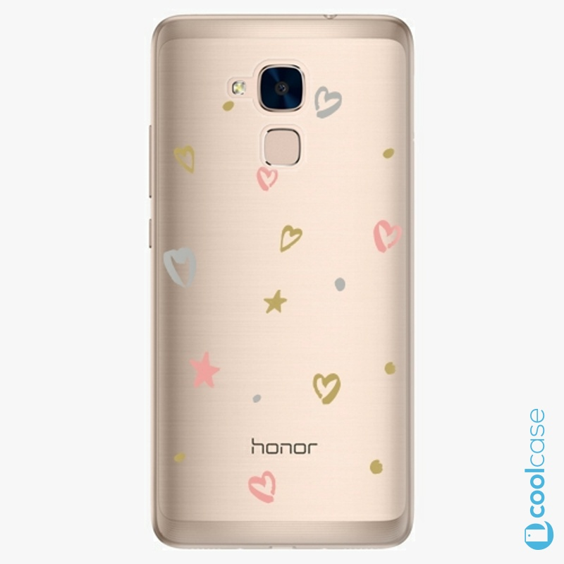 Silikonové pouzdro iSaprio - Lovely Pattern na mobil Honor 7 Lite