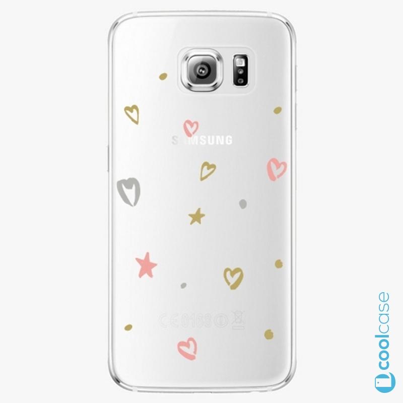 Silikonové pouzdro iSaprio - Lovely Pattern na mobil Samsung Galaxy S6