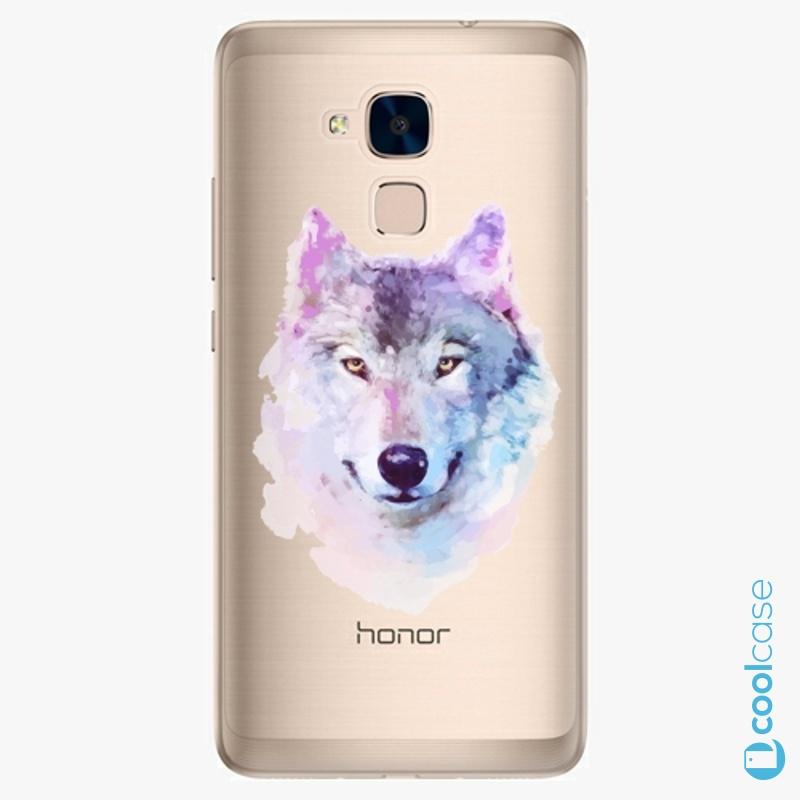 Silikonové pouzdro iSaprio - Wolf 01 na mobil Honor 7 Lite