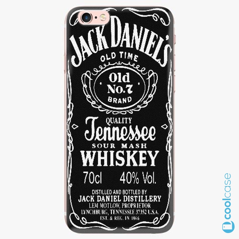 Silikonové pouzdro iSaprio - Jack Daniels na mobil Apple iPhone 6 Plus   6S  Plus ( e7744702625