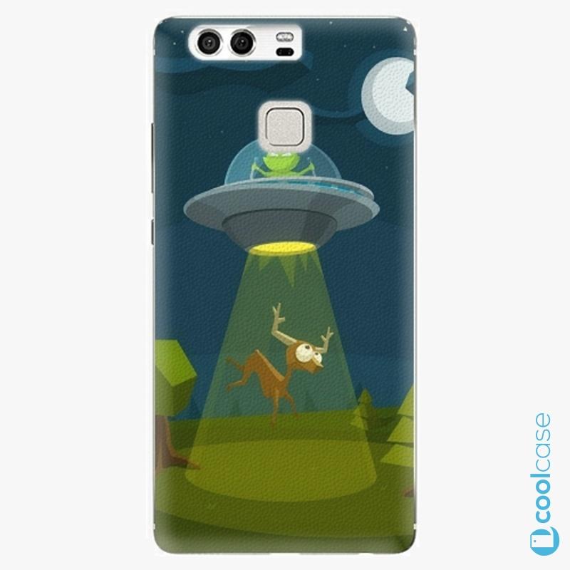Silikonové pouzdro iSaprio - Alien 01 na mobil Huawei P9