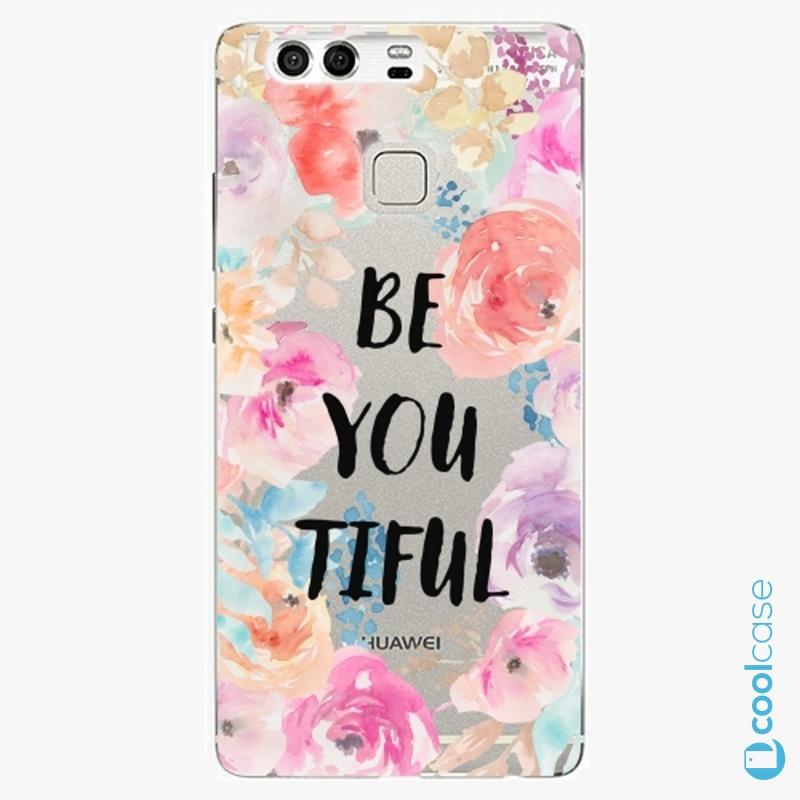 Silikonové pouzdro iSaprio - BeYouTiful na mobil Huawei P9