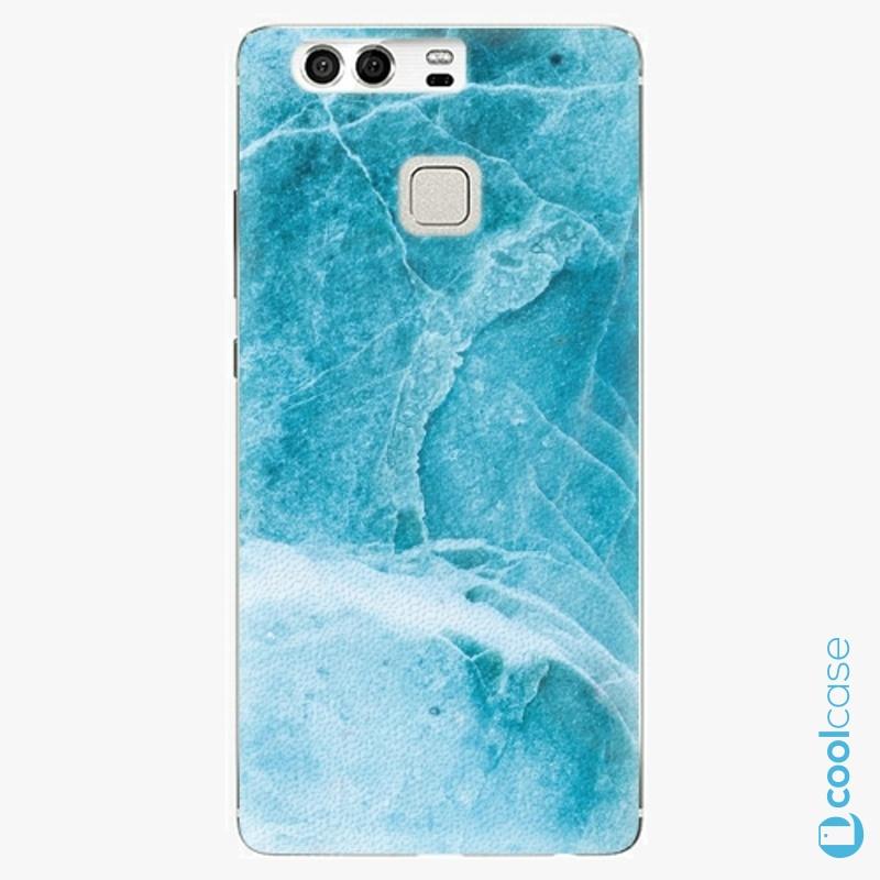 Silikonové pouzdro iSaprio - Blue Marble na mobil Huawei P9