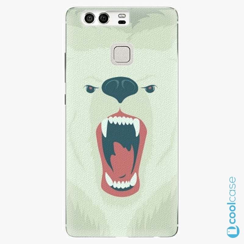 Silikonové pouzdro iSaprio - Angry Bear na mobil Huawei P9