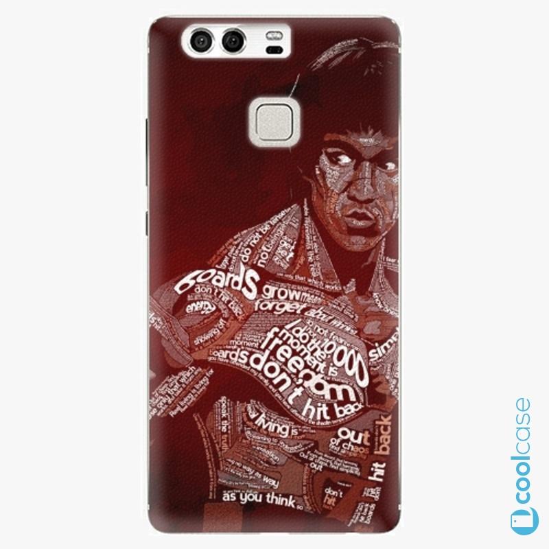 Silikonové pouzdro iSaprio - Bruce Lee na mobil Huawei P9