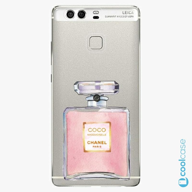 Silikonové pouzdro iSaprio - Chanel Rose na mobil Huawei P9