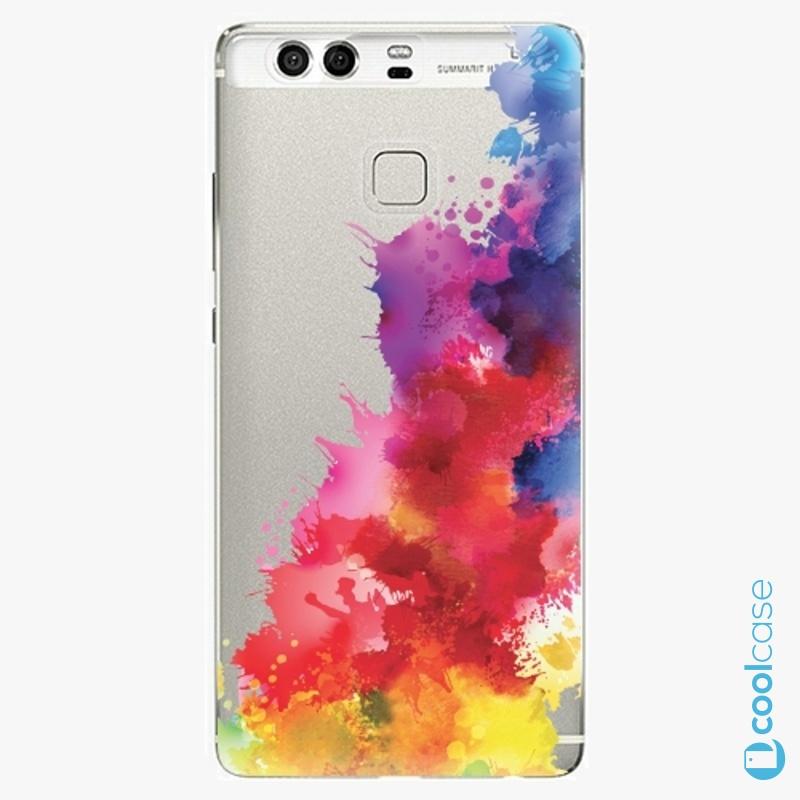 Silikonové pouzdro iSaprio - Color Splash 01 na mobil Huawei P9