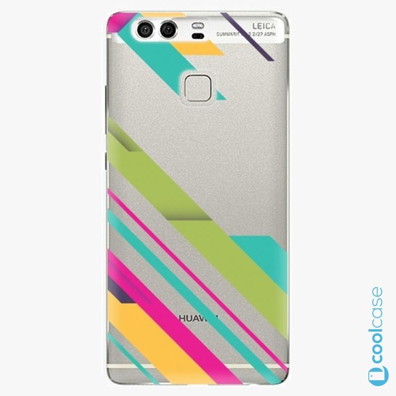 Silikonové pouzdro iSaprio - Color Stripes 03 na mobil Huawei P9