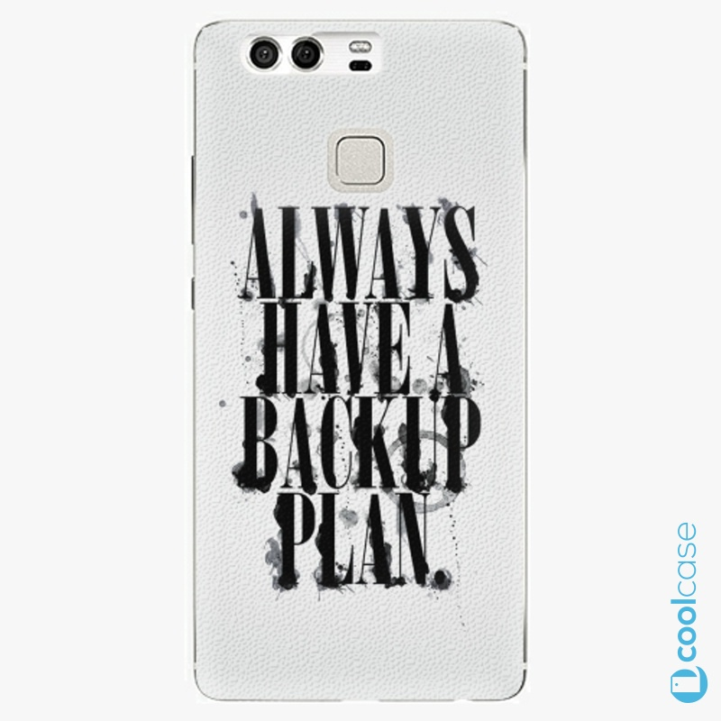Silikonové pouzdro iSaprio - Backup Plan na mobil Huawei P9