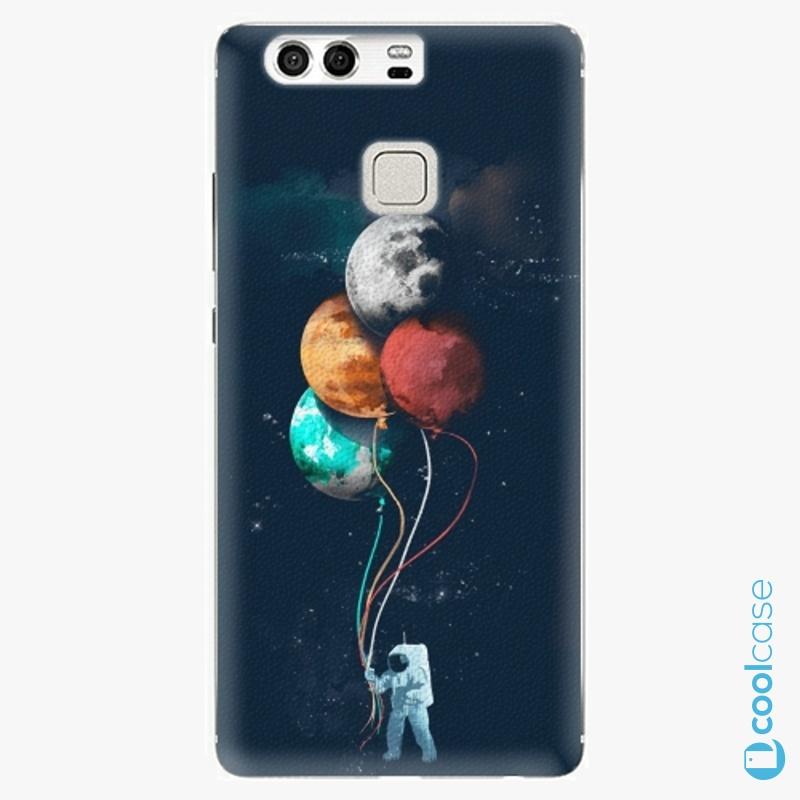 Silikonové pouzdro iSaprio - Balloons 02 na mobil Huawei P9