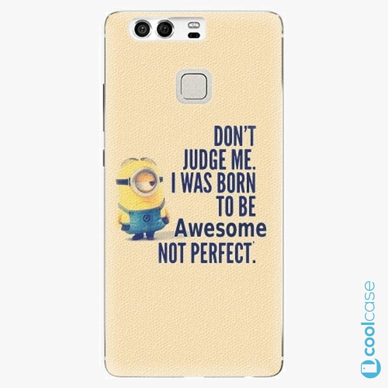 Silikonové pouzdro iSaprio - Be Awesome na mobil Huawei P9
