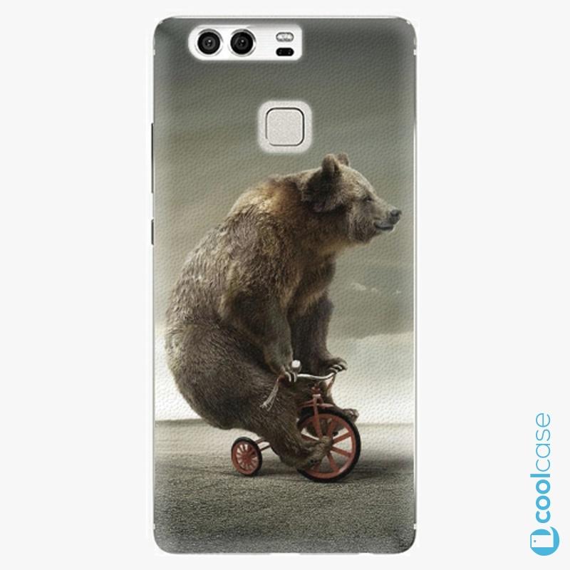Silikonové pouzdro iSaprio - Bear 01 na mobil Huawei P9