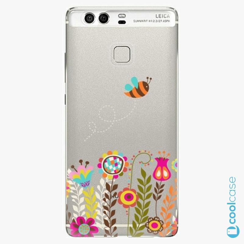 Silikonové pouzdro iSaprio - Bee 01 na mobil Huawei P9