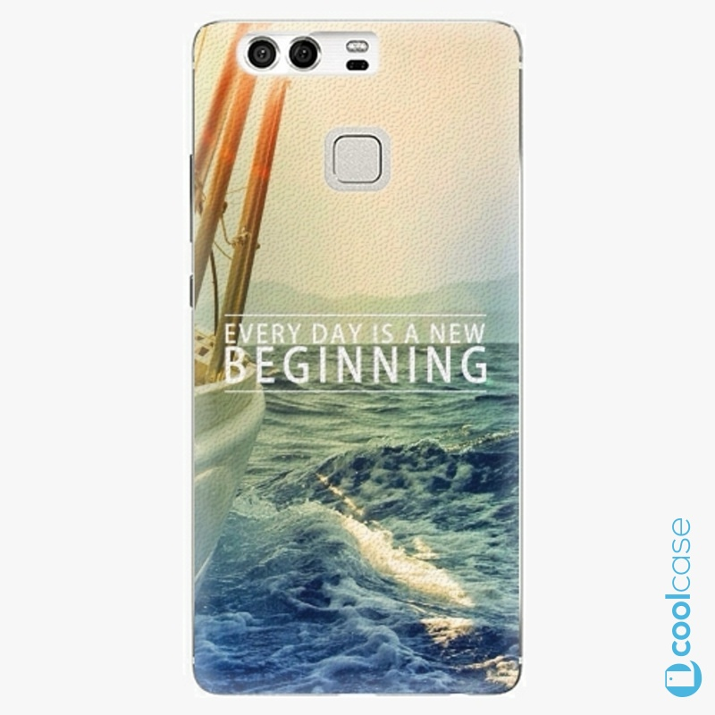 Silikonové pouzdro iSaprio - Beginning na mobil Huawei P9