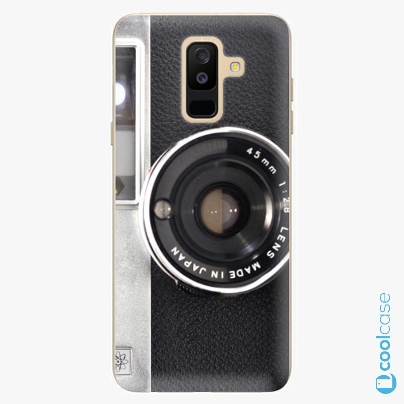 Silikonové pouzdro iSaprio - Vintage Camera 01 na mobil Samsung Galaxy A6 Plus